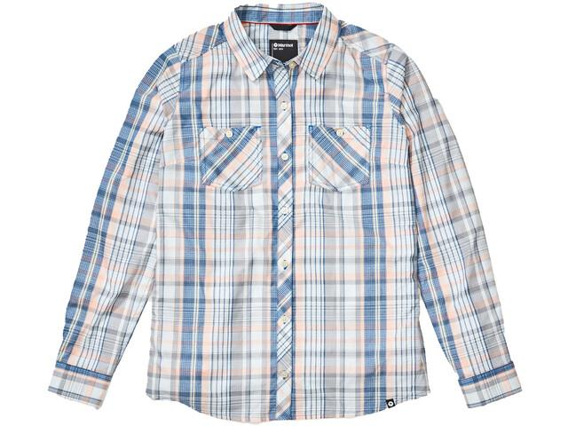 Marmot Aella LS Shirt Women, classic blue